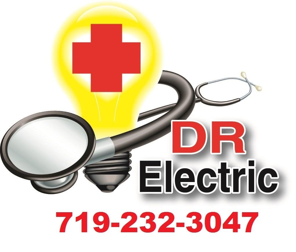 DR Electric logo