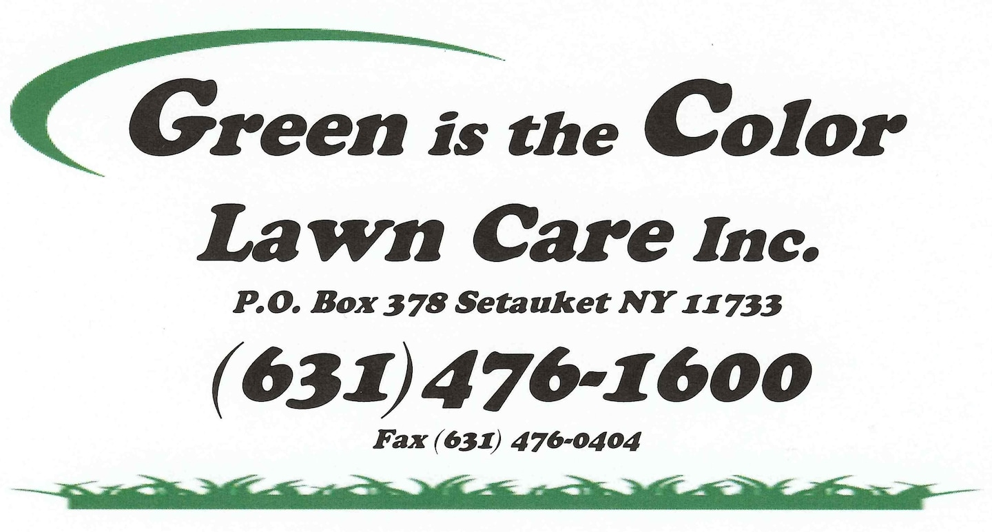 GREEN IS THE COLOR LAWN CARE