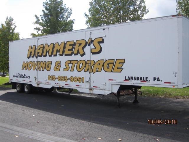 HAMMER'S MOVING & STORAGE INC