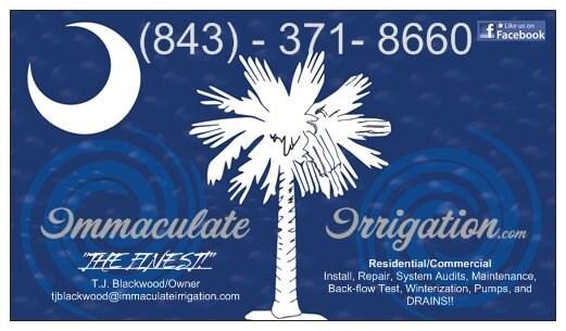 Immaculate Irrigation, LLC