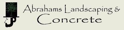 ABRAHAMS LANDSCAPING & CONCRETE