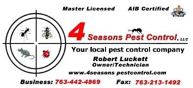 4 Seasons Pest Control LLC