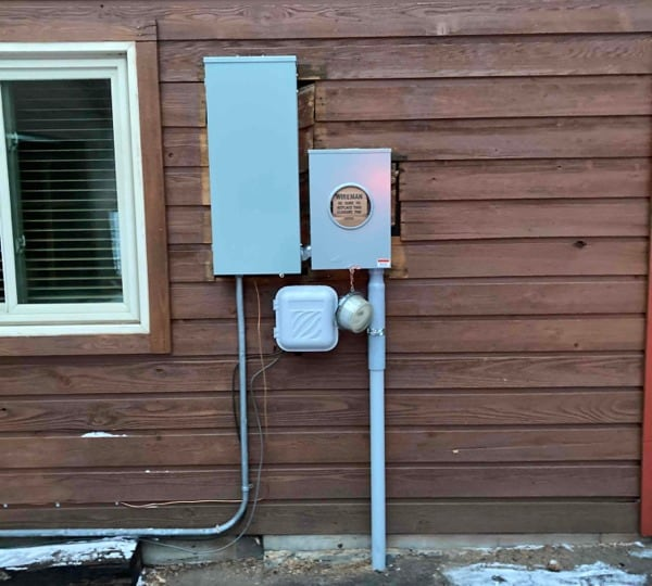 Electrical Service Upgrade - 200 amp in Evergreen
