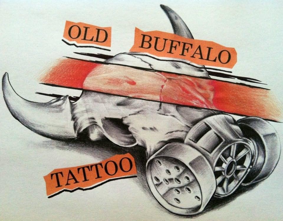 Old Buffalo Tattoo