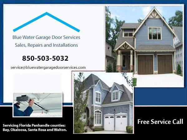Blue Water Garage Door Services Reviews Niceville Fl Angie S List