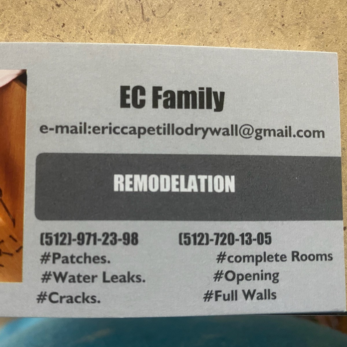 EC Family Interior Remodeling