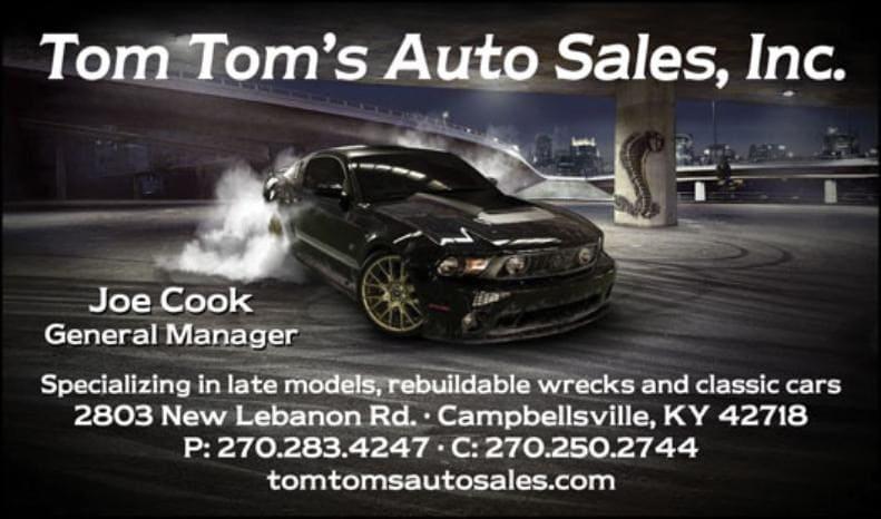 Tom Tom's Auto Sales, Inc.