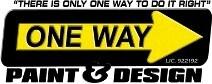 ONE WAY PAINT & DESIGN