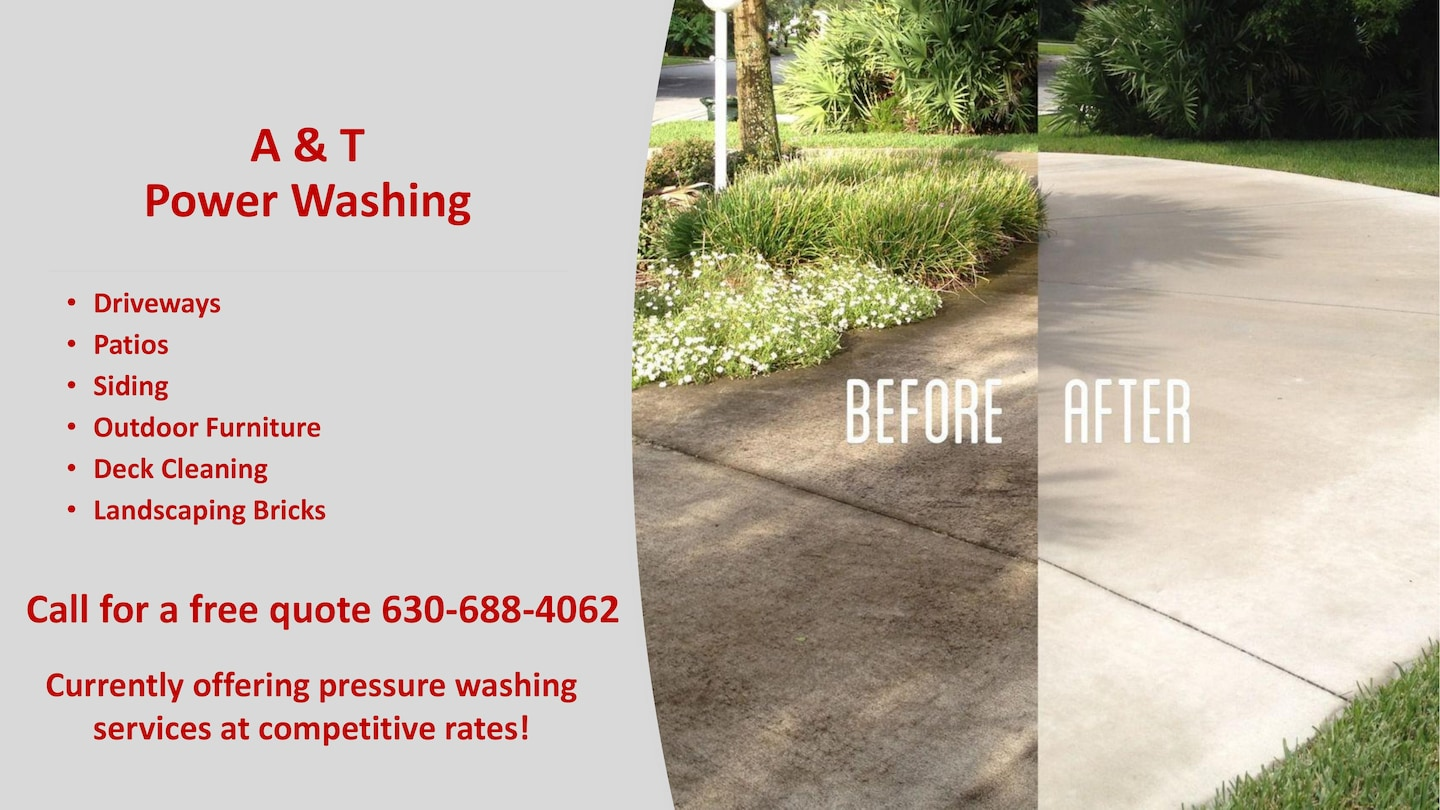 A & T Power Washing