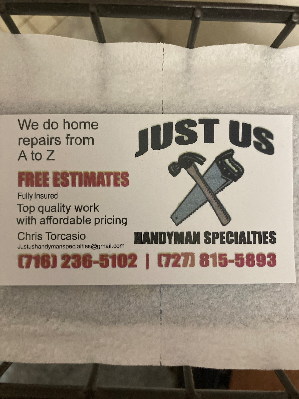 Just Us Handyman Specialties