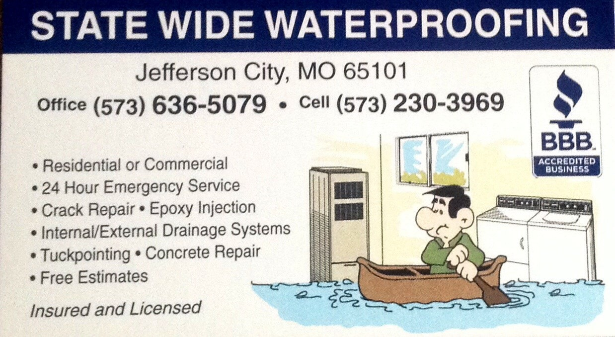 STATE WIDE WATER PROOFING