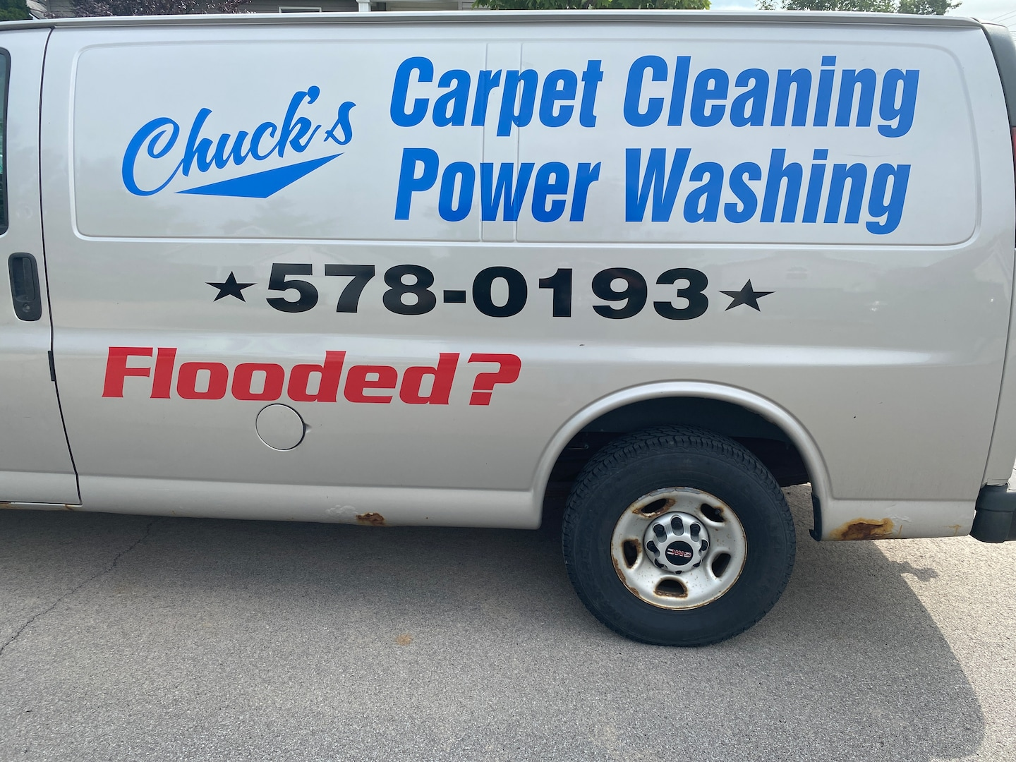 Chuck's Powerwashing and Flood Relief