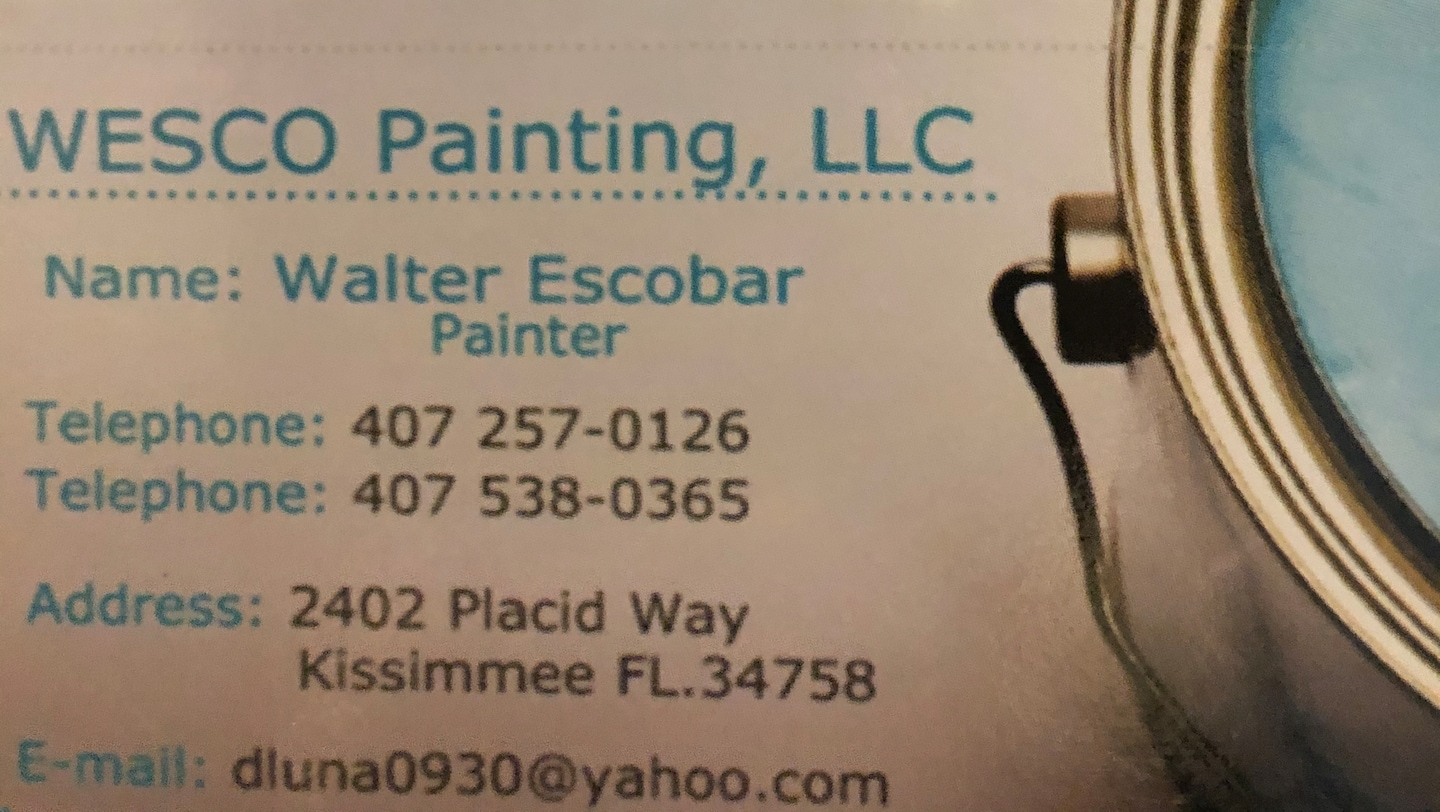 Wesco Painting Llc.