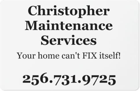 Christopher Home Maintenance Svc