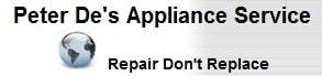 Peter De's Appliance Service