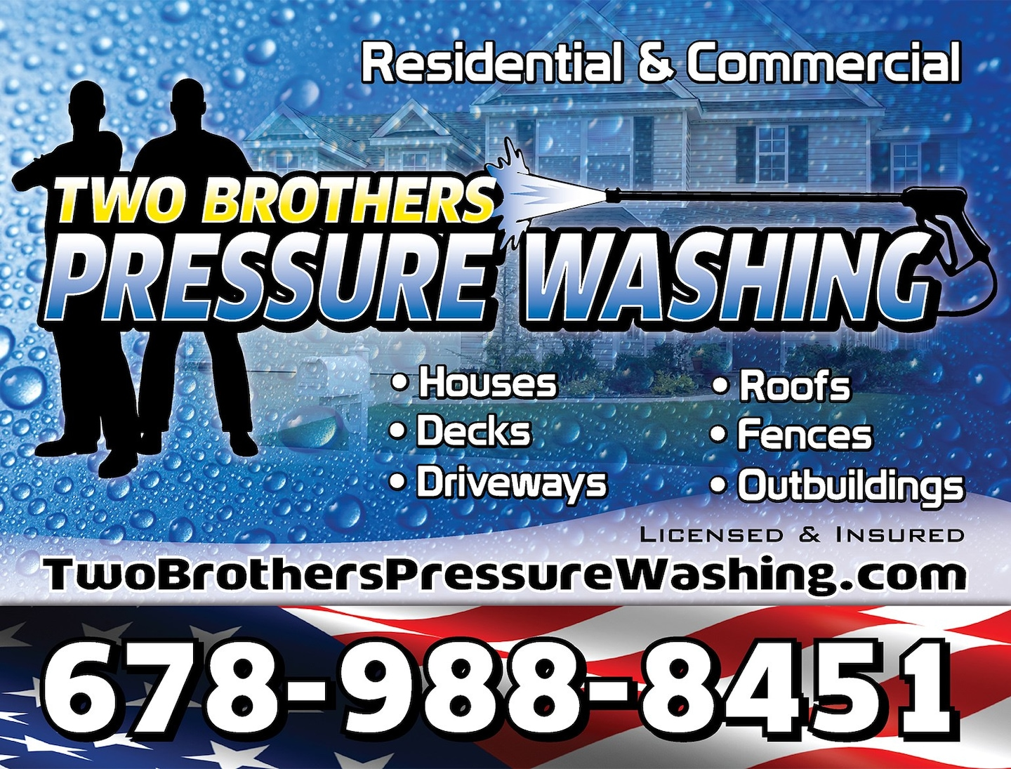 Two Brothers Pressure Washing