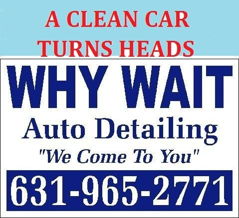 Why Wait Auto Detailing