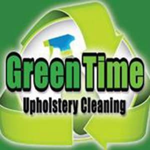 Green time upholstery cleaning