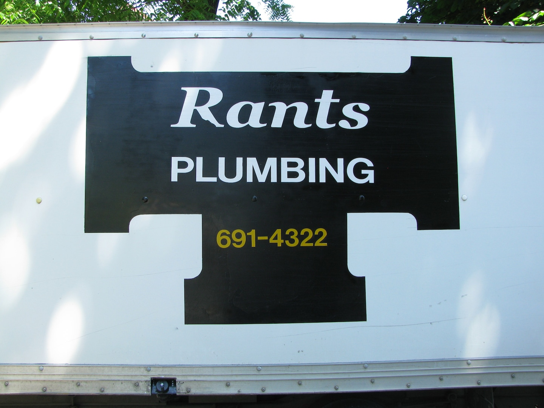 Rants Plumbing Inc