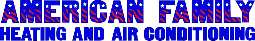 AMERICAN FAMILY HEATING AND AIR CONDITIONING logo