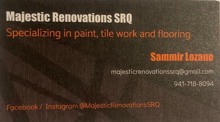 Majestic Renovations SRQ