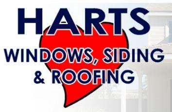 Harts Roofing & Windows logo