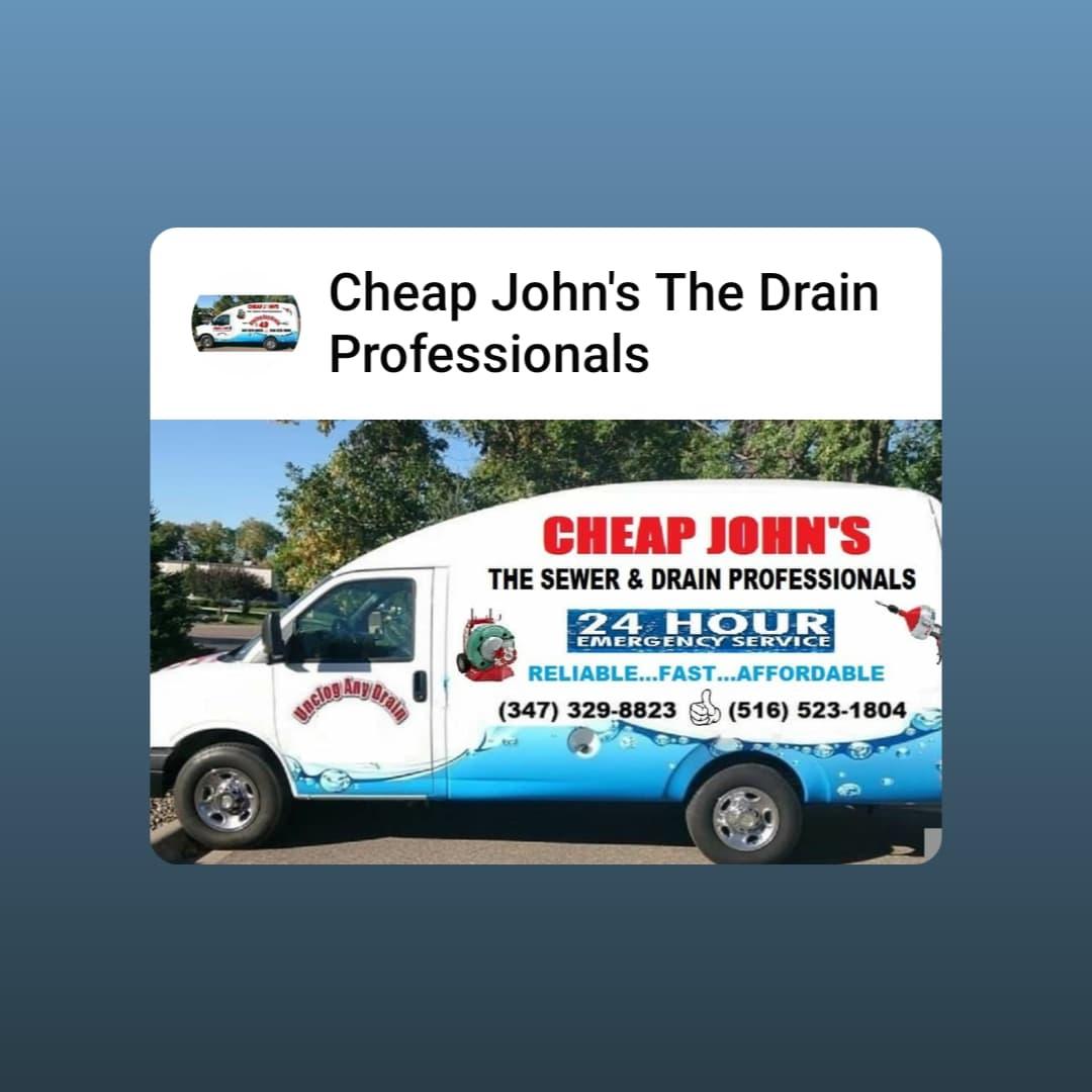 Cheap John's The Drain Professionals