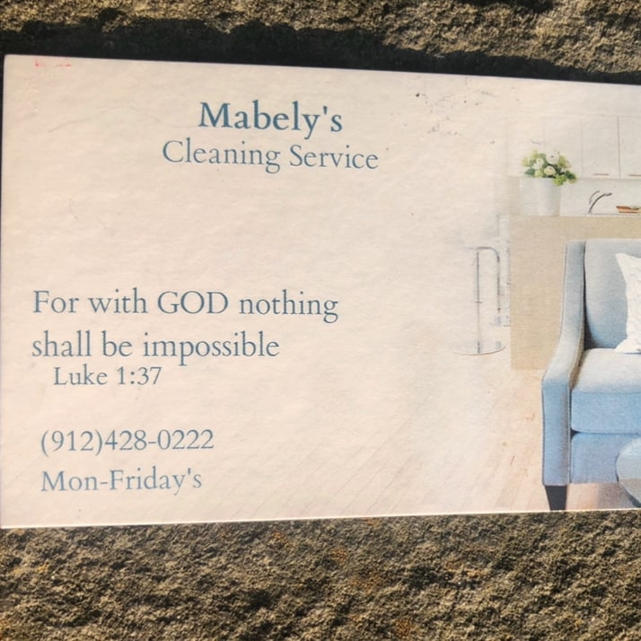Mabely's cleaning service