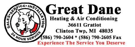 Great Dane Heating & Air Conditioning logo