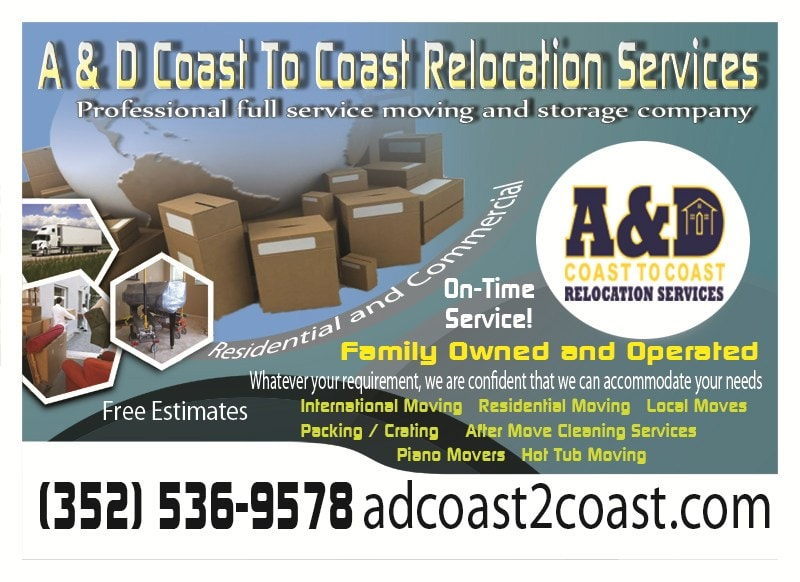 A & D Coast to Coast Relocation Services