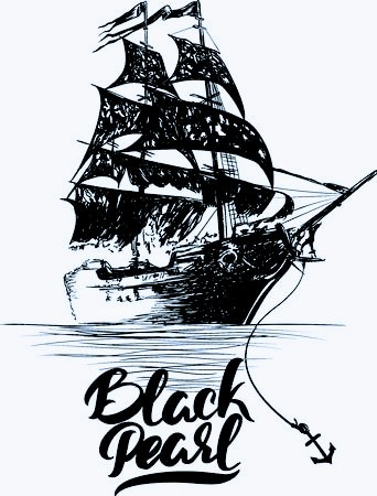Black pearl construction
