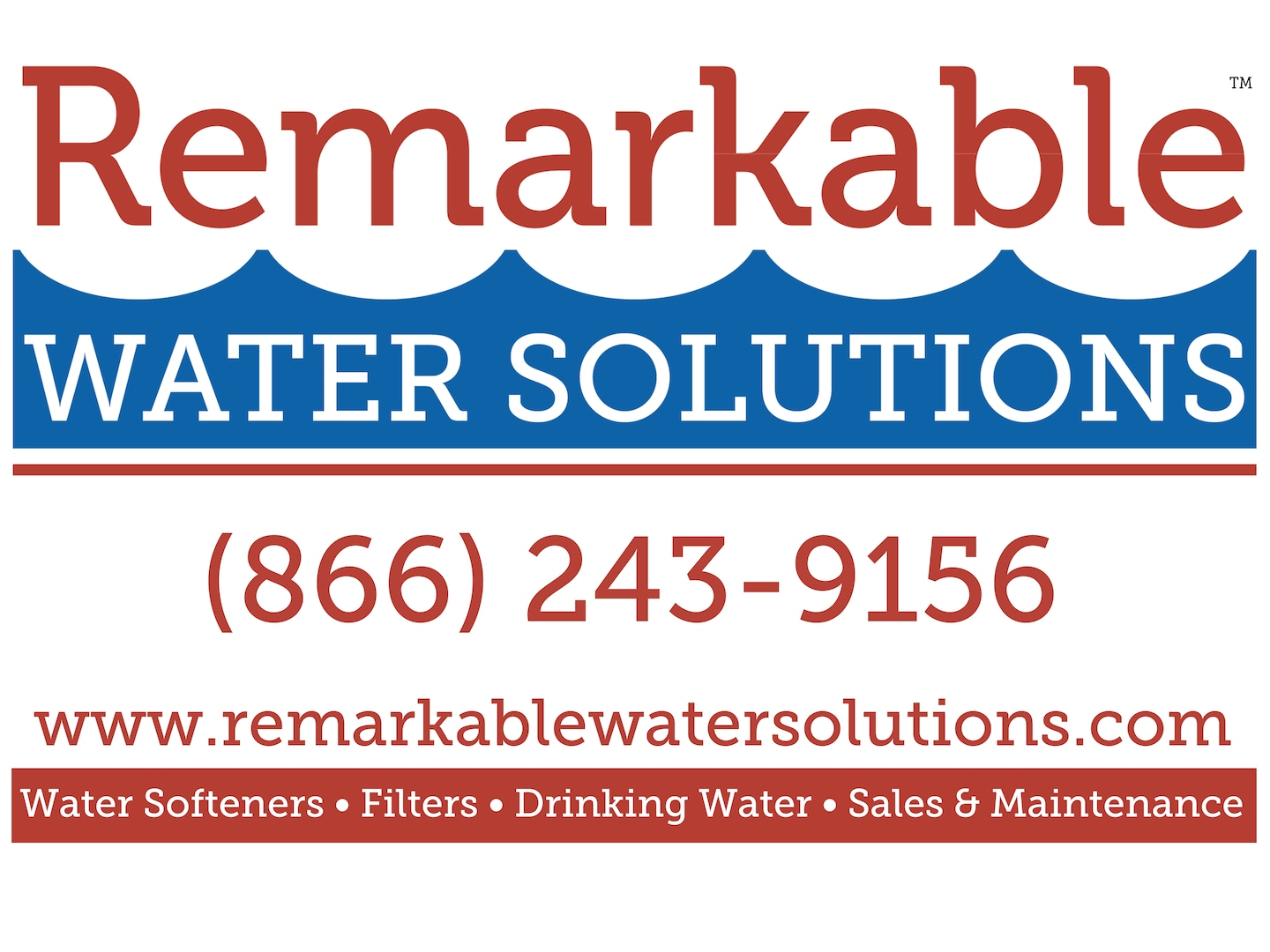 Remarkable Water Solutions