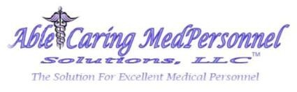 Able & Caring MedPersonnel Solutions LLC