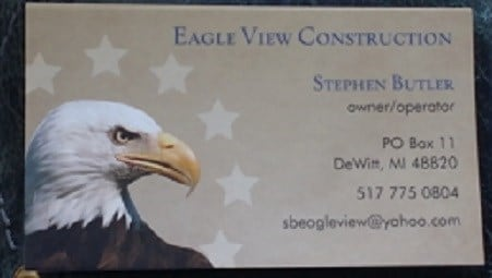 Eagle View Construction logo