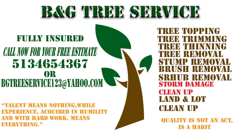B&G TREE SERVICE