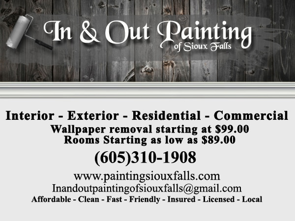 In & Out Painting of Sioux Falls