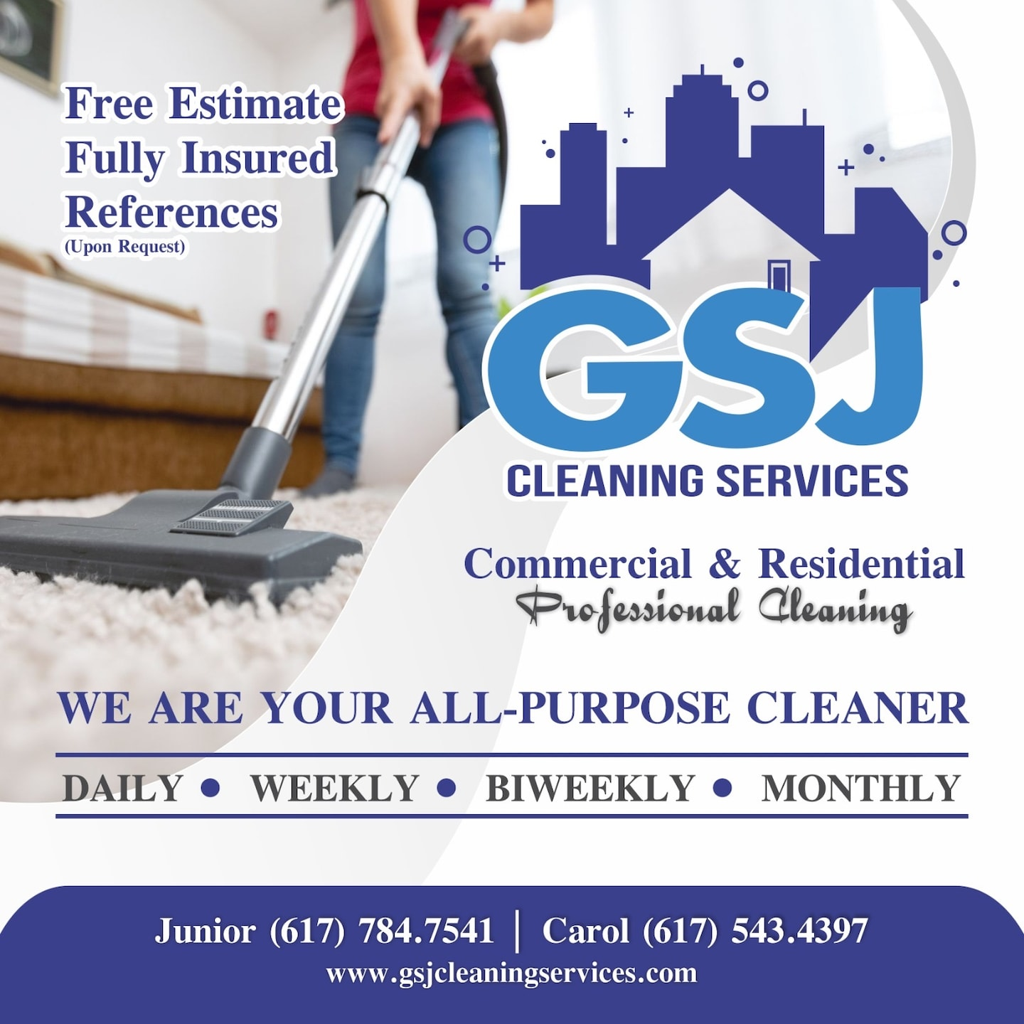 GSJ Cleaning Services