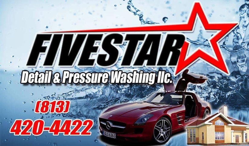 Five Star Detail & Pressure Washing LLC logo