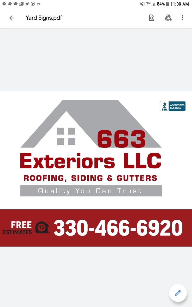 663 Exteriors LLC