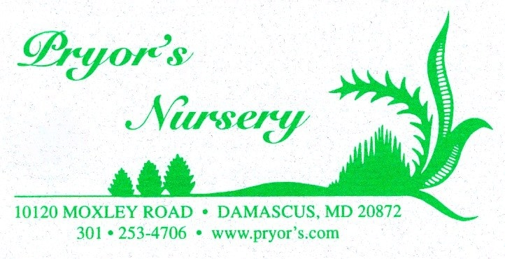 PRYORS NURSERY