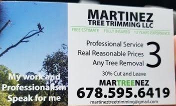 Martinez Tree Trimming LLC