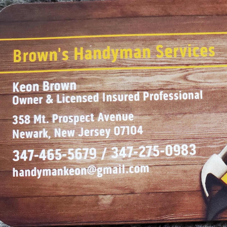 Brown's Handyman Service