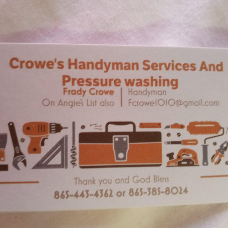 Crow's Handyman Service