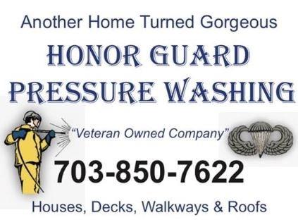 Honor Guard Pressure Washing