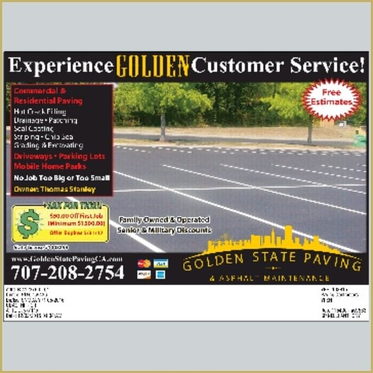Golden State Paving & Asphalt Maintenance