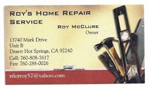 Roy's Home Repair & Services
