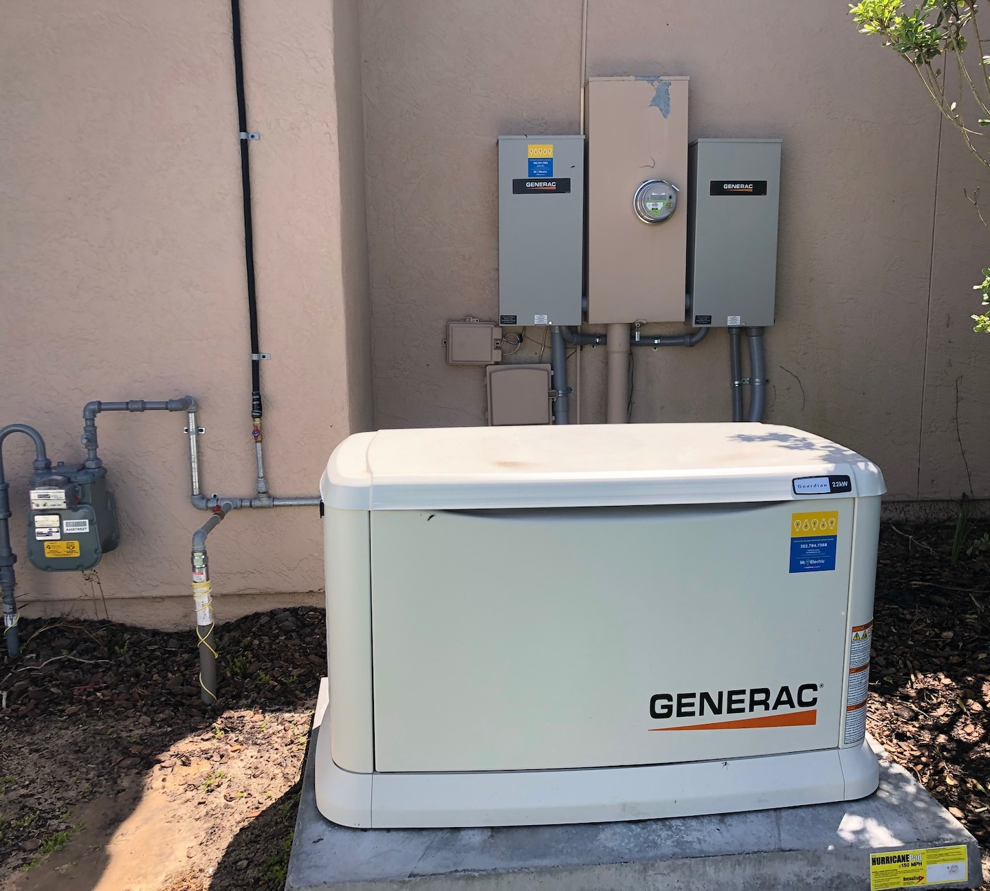 Whole Home 22kw Generac Generator