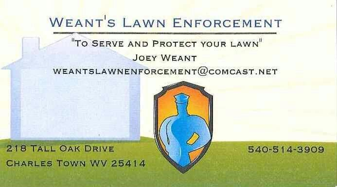 Weant's Lawn Enforcement