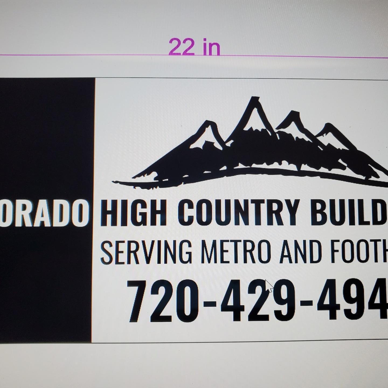 Colorado High Country Builders llc logo