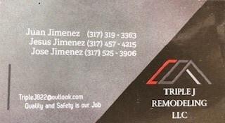 Triple J Remodeling LLC.